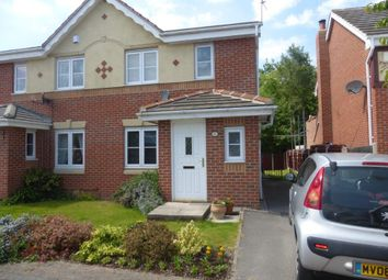 Thumbnail 3 bedroom semi-detached house for sale in Bramham Croft, Wombwell, Barnsley