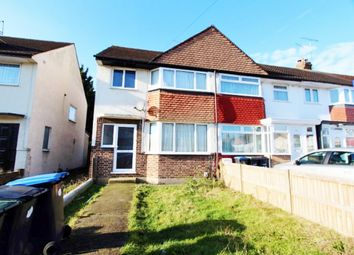 Thumbnail 3 bed semi-detached house for sale in Lytton Avenue, Enfield