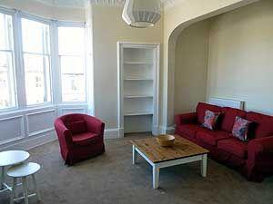 Thumbnail 2 bed flat to rent in Hillside Street, Hillside, Edinburgh
