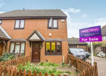 Thumbnail 2 bed semi-detached house for sale in Meadowsweet Close, London