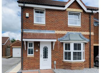 Thumbnail 3 bed link-detached house for sale in Easter Wood Close, Hull