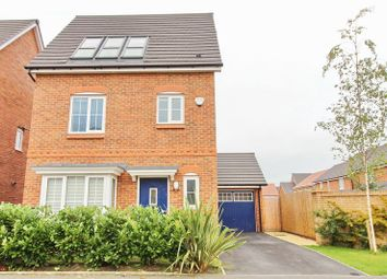 Thumbnail 4 bed detached house for sale in Moss Lane, Walkden, Manchester