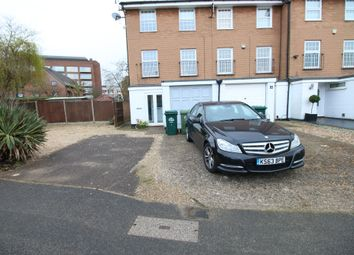 Thumbnail 3 bedroom town house to rent in Waters Drive, Staines-Upon-Thames, Middlesex
