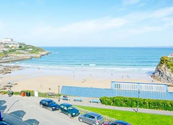 Thumbnail 2 bed flat for sale in The Crescent, Newquay, Cornwall