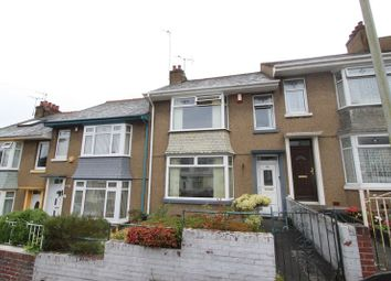 Thumbnail 3 bedroom terraced house for sale in Sturdee Road, Stoke, Plymouth