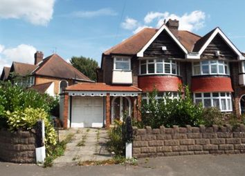 Thumbnail 3 bed semi-detached house for sale in Fox Hollies Road, Acocks Green, Birmingham, West Midlands