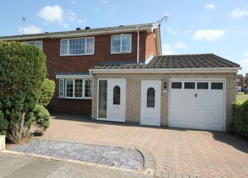 Thumbnail 3 bed semi-detached house for sale in Northumberland Avenue, Costhorpe