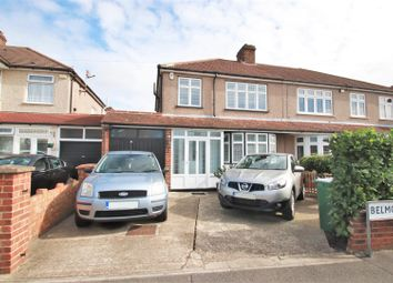 Thumbnail 3 bed semi-detached house for sale in Belmont Road, Erith