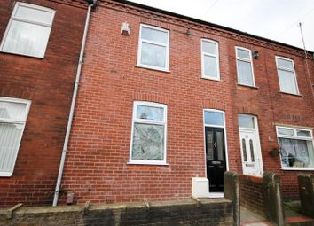 Thumbnail 3 bed terraced house to rent in Higher Croft, Eccles, Manchester