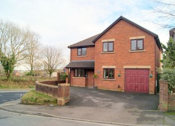 Thumbnail 4 bed detached house for sale in Garfield Avenue, Litchard, Bridgend.