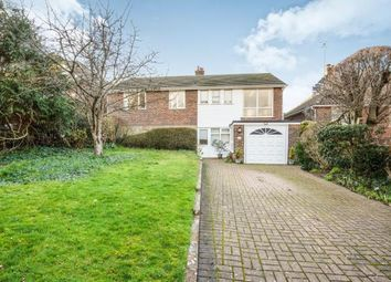 Thumbnail 4 bedroom detached house for sale in Lullington Close, Seaford, East Sussex, .