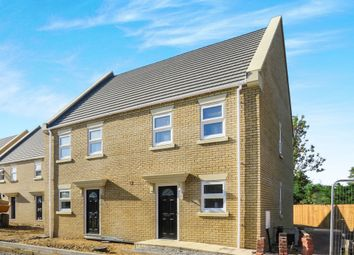 3 bed semi-detached house for sale in Penwald Court, Peakirk, Peterborough PE6
