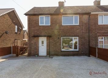 Thumbnail 3 bed semi-detached house for sale in Petersmith Crescent, Ollerton, Newark