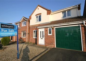 Thumbnail 3 bed detached house for sale in Burdock Road, Scunthorpe, North Lincolnshire