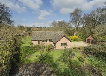 Thumbnail 4 bed detached bungalow for sale in Broomsthorpe Road, East Rudham, King's Lynn