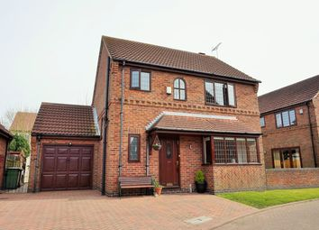 Thumbnail 3 bed detached house for sale in Selby Close, Epworth