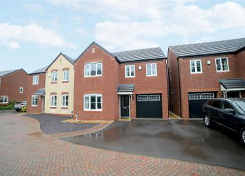 Thumbnail 4 bed detached house for sale in Green Close, Great Haywood