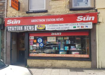 Thumbnail Retail premises for sale in Ynysmwurog Road, Abercynon, Mountain Ash