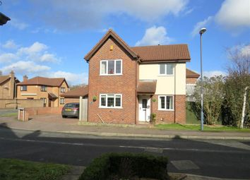 Thumbnail 3 bed detached house for sale in Foxfields Drive, Oakwood, Derby