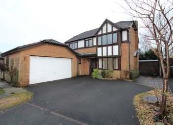 Thumbnail 4 bed detached house for sale in Harlech Close, Haslingden, Rossendale