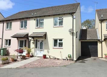 Thumbnail 3 bed semi-detached house for sale in Colombelles Close, Fremington, Barnstaple