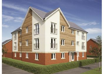 Thumbnail 1 bedroom flat for sale in Plot 174, Badbury Park, Rainscombe Road, Swindon, Wiltshire