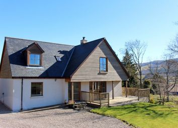Thumbnail 4 bed detached house for sale in Broombrae Balhomais, By Aberfeldy