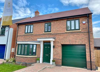 Thumbnail 4 bed detached house for sale in Ash Tree Close, Houghton On The Hill, 9