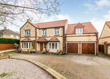 Thumbnail 5 bed detached house for sale in Ermine Street, Ancaster, Grantham