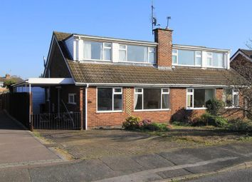 Thumbnail 3 bed property to rent in Dulverton Close, Loughborough