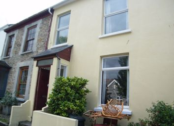 Thumbnail 4 bed terraced house to rent in Wellington Terrace, Falmouth