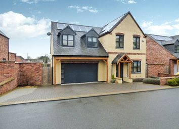 Thumbnail 4 bed detached house for sale in Glebe Close, Stoney Stanton, Leicester, Leicestershire
