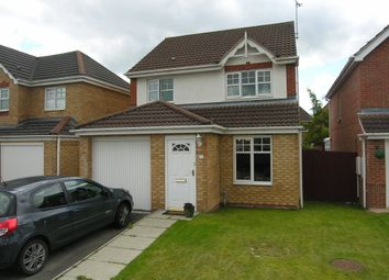 Thumbnail 3 bed detached house for sale in Ryder Close, Wrexham