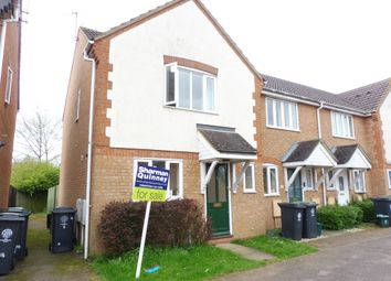 Thumbnail 3 bed end terrace house for sale in Penrhyn Court, Thrapston, Kettering
