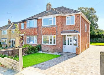 Thumbnail 3 bed semi-detached house for sale in Kingsley Close, Harrogate