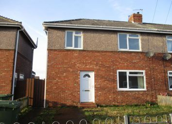 Thumbnail 2 bed semi-detached house to rent in Twentieth Avenue, Blyth