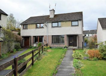 Thumbnail 3 bed semi-detached house for sale in Macdonald Road, Dingwall, Ross-Shire