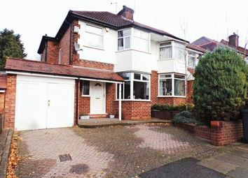 Thumbnail 3 bed semi-detached house for sale in Orton Avenue, Sutton Coldfield, West Midlands