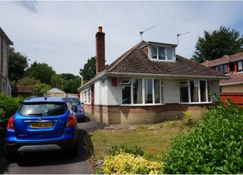 Thumbnail 4 bed detached bungalow for sale in Manor Avenue, Poole