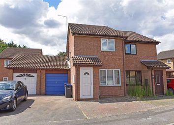Thumbnail 2 bed semi-detached house for sale in Gedling Close, Little Billing, Northampton
