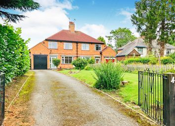 Thumbnail 3 bed semi-detached house for sale in Main Road, Claybrooke Magna, Lutterworth
