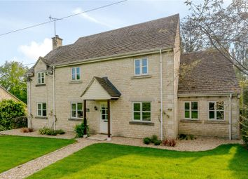 Thumbnail 4 bedroom detached house for sale in Shipton Oliffe, Cheltenham, Gloucestershire