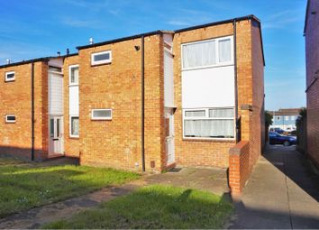 Thumbnail 3 bed end terrace house for sale in Marwell Walk, Leicester