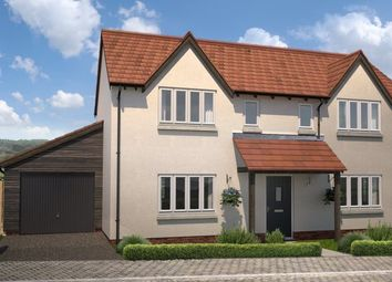 Thumbnail 4 bed detached house for sale in Off King Alfred Way, Newton Poppleford, Devon