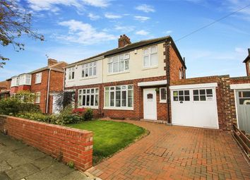 Thumbnail 3 bed semi-detached house for sale in Eastward Green, Whitley Bay, Tyne And Wear