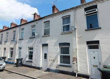 Thumbnail 2 bedroom terraced house for sale in Feering Street, Newport