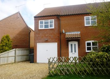 Thumbnail 3 bed property to rent in Wellington Crescent, Sculthorpe, Fakenham