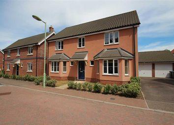 Thumbnail 4 bedroom detached house for sale in Hares Close, Grange Farm, Kesgrave, Ipswich