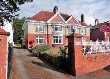 Thumbnail 4 bed semi-detached house for sale in Merthyr Mawr Road, Bridgend, Bridgend, Mid Glamorgan.