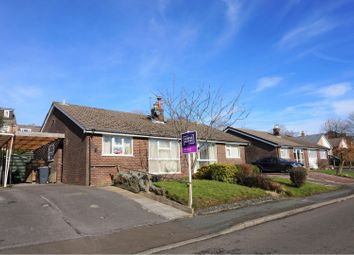 Thumbnail 2 bedroom bungalow for sale in Stoneyland Drive, New Mills